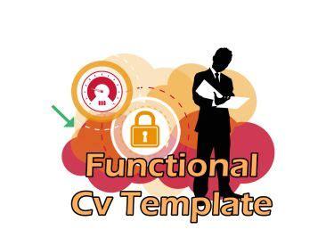 Professional functional resume sample